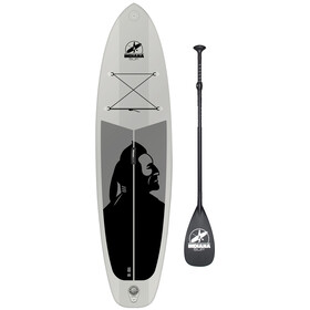 Indiana SUP 10'6 Family Inflatable Sup Pack with 3-Piece Fibre/Composite Paddle Grey